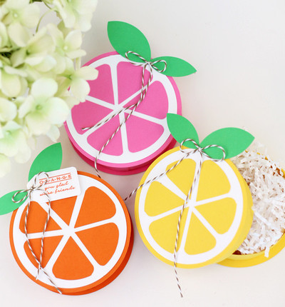 Summery Citrus Treat Boxes