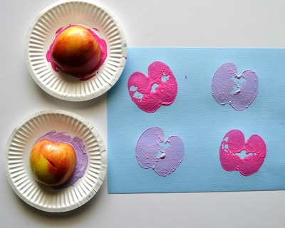 How to Make a Butterfly with an Apple