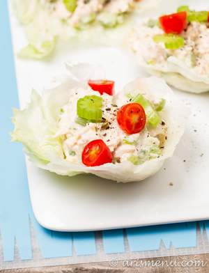 Healthy No-Mayo Tuna Salad
