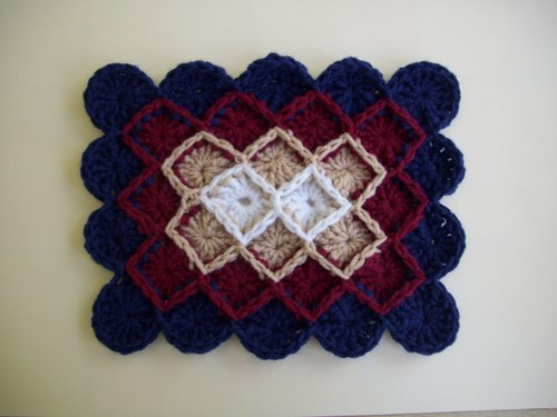 Wheel Stitch Afghan