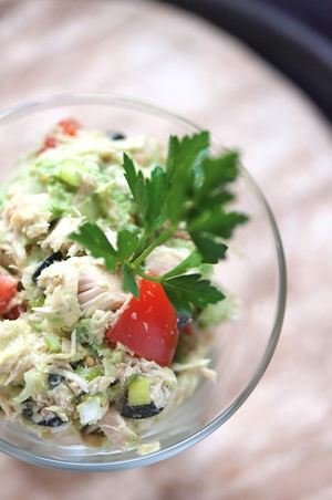 No-Mayo Tuna Salad Recipe
