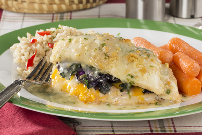 Stuffed Lemon Chicken