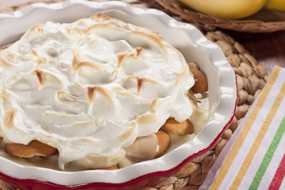 Guilt-Free Banana Pudding Pie