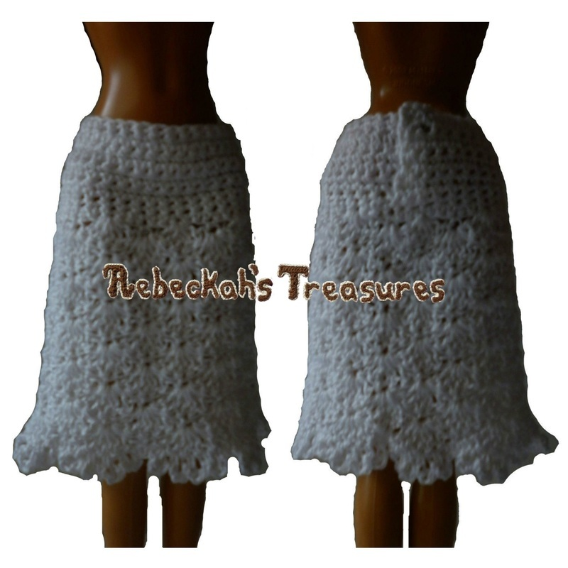 Baby Turtle Amigurumi Pattern : Doll Crochet Skirt Pattern FaveCrafts.com