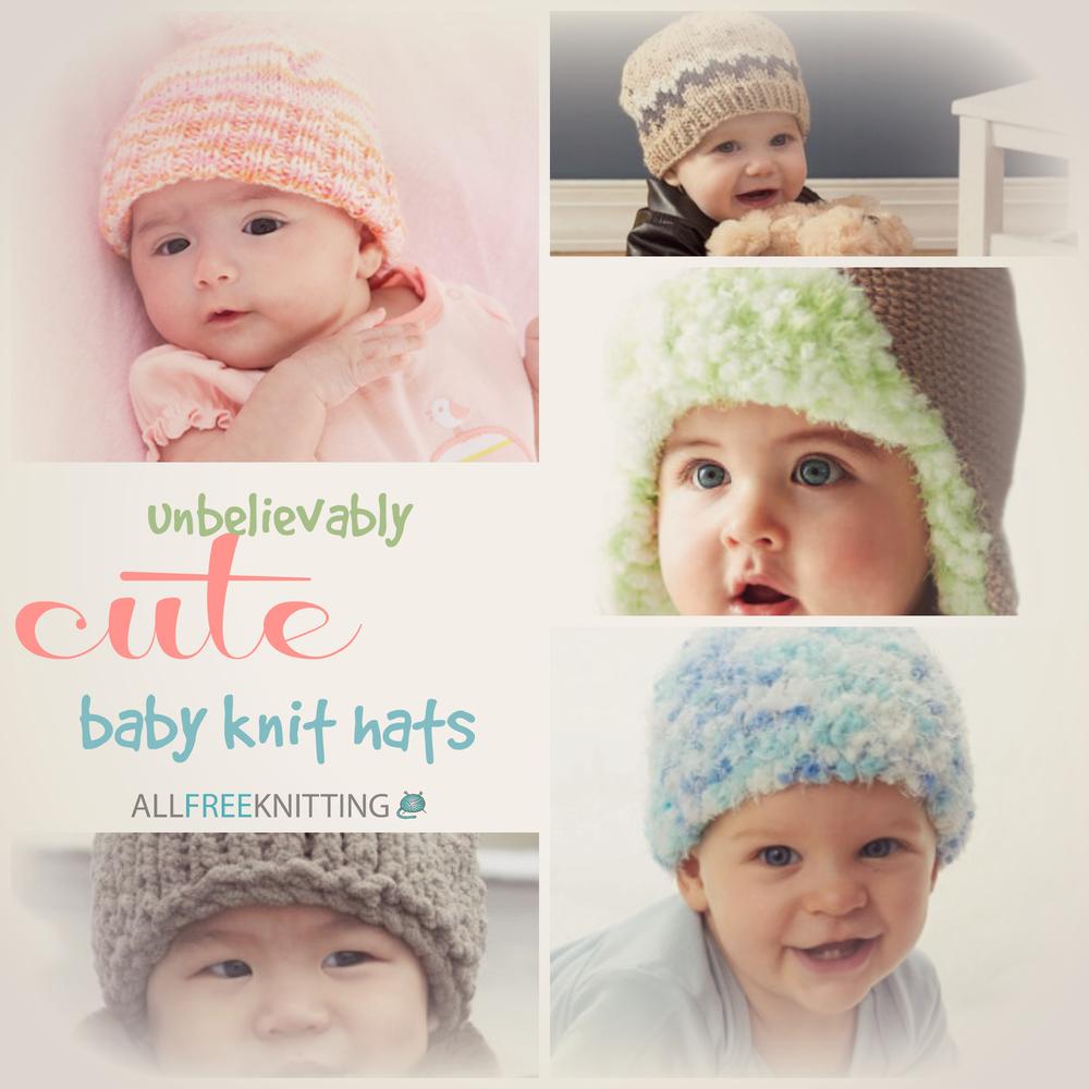 31 Unbelievably Cute Baby Knit Hats AllFreeKnitting.com