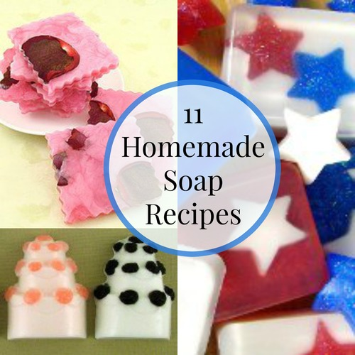 11 Homemade Soap Recipes