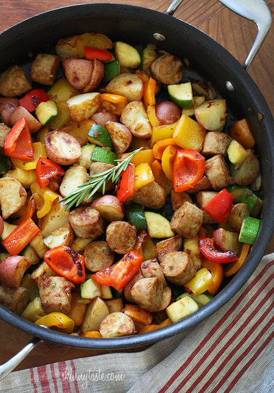 One-Pot Wonder with Sausage and Veggies
