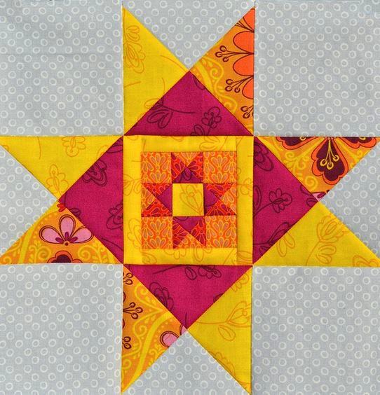 Star Quilt Block Tutorial Ohio star quilt block tutorial favequilts ...