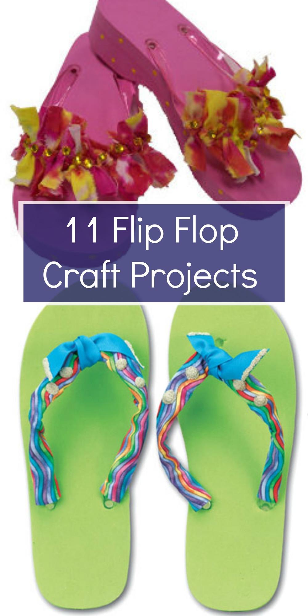 11 Flip Flop Craft Projects FaveCrafts