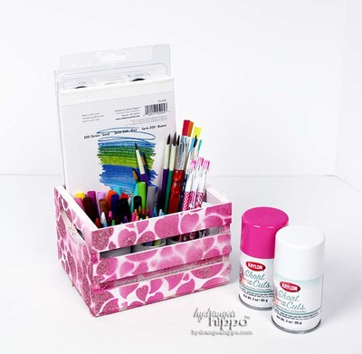 Kids Art Supply Crate