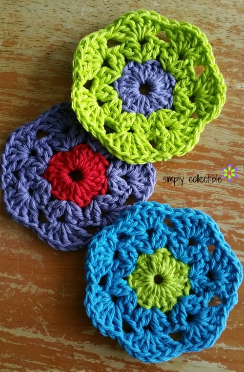 Adorable Crochet Coaster