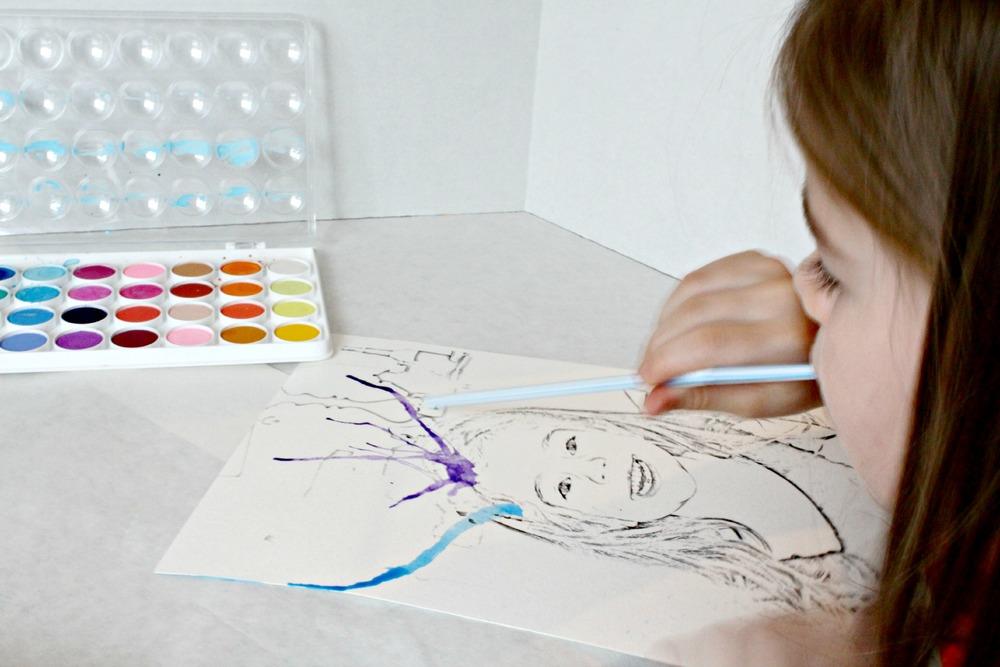 Creative Watercolor Art Project Favecrafts Com