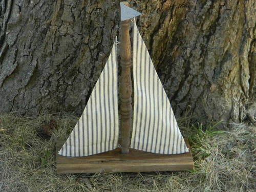 Craft a Rustic Sailboat