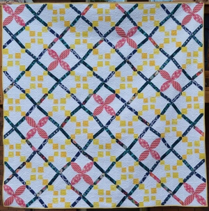 Irish Chain Quilt Twist