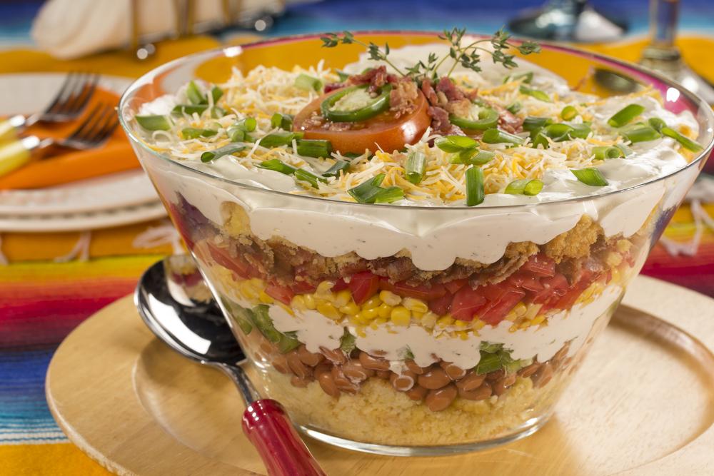 Mexican Corn Bread Salad Mrfood Com