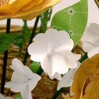 Rustic Paper Flower Basket 3