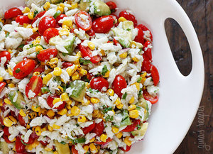 Easy Peasy Summer Salad