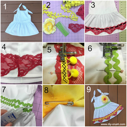 Dress Pattern | Embellishment | Cinco de Mayo Crafts You Can Sew For Your Fiesta At Home | Sewing