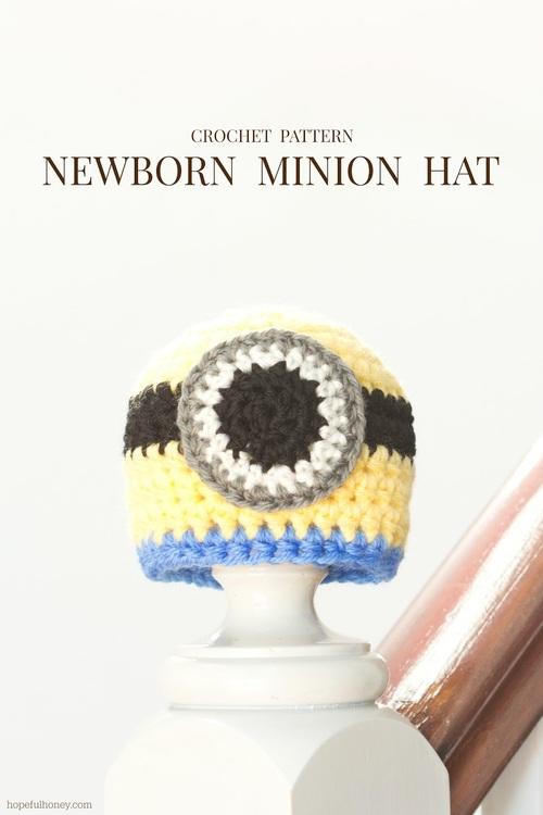 Baby Minion Crochet Hat Pattern  530dcfff698