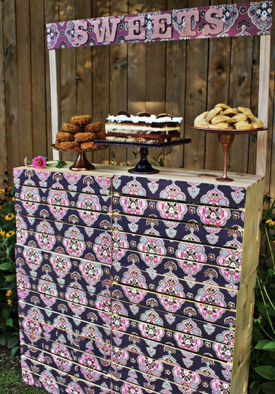 Sweets DIY Backyard Ideas Stand