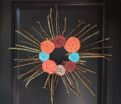 Twiggy DIY Wreath Ideas