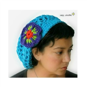 Summer Slouch Crochet Hat Pattern