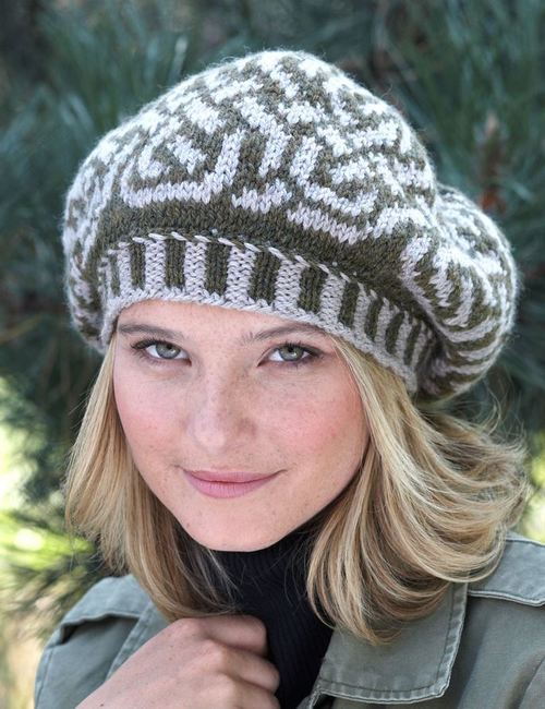 Celtic Beauty Beret Hat Pattern