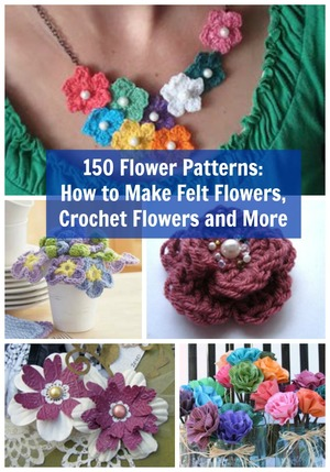Medium Crochet Flower Pattern : Finding Inspiration in Nature FaveCrafts.com
