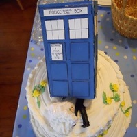 Dr. Who Cake Topper