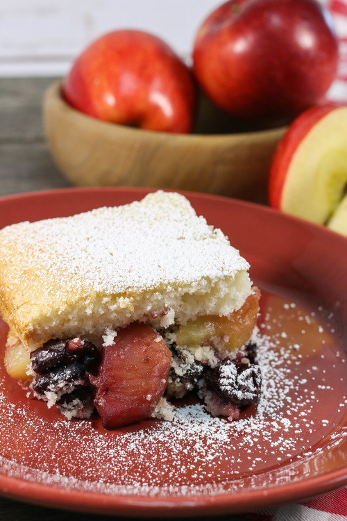3-Ingredient Fruit Cobbler