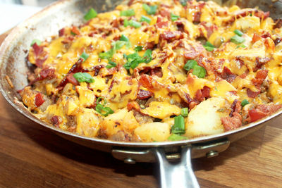 Cheesy Texas Hash