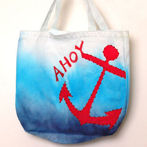 Anchors Away Tie Dye Bag