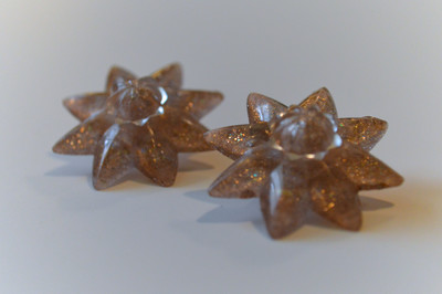 Precious Rosette DIY Earrings