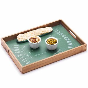 Chalkboard Football Party Tray