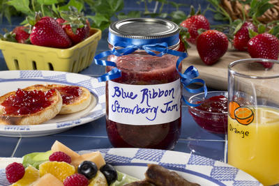 Blue Ribbon Strawberry Jam