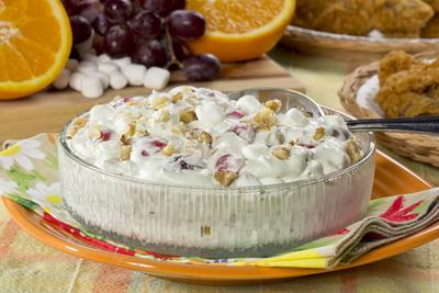 14 Dessert Salads Cherry Fluff Pineapple Fluff And More Fluff