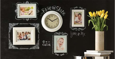 Personalized Chalkboard Area