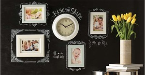 Personalized Chalkboard Wall