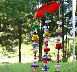 Bottle Cap Art Wind Chime