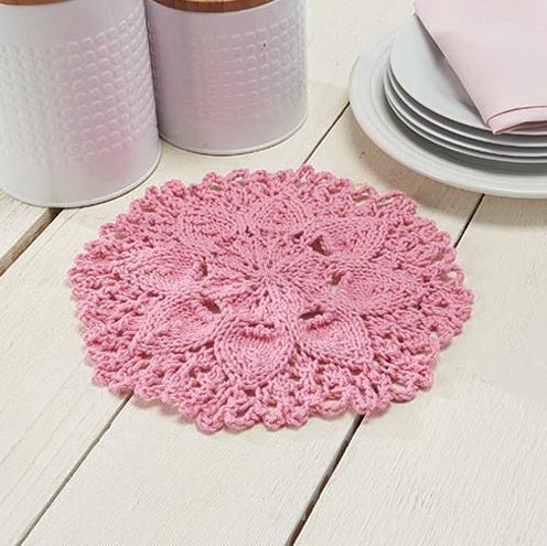 Lilypad Dishcloth Pattern