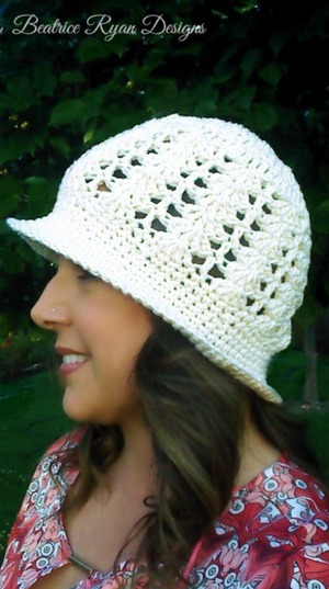 Cotton Crochet Sun Hat Pattern