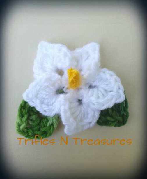 Totally Tropical Crochet Flower Pattern_1