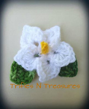 Totally Tropical Crochet Flower Pattern