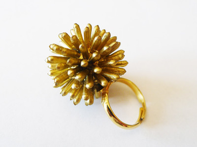 Spiky Starburst Urchin DIY Ring