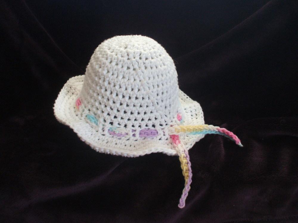 Kids Crochet Sun Hat Pattern AllFreeCrochet.com