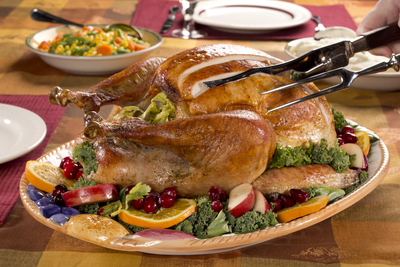 Butter-Basted Herbed Turkey