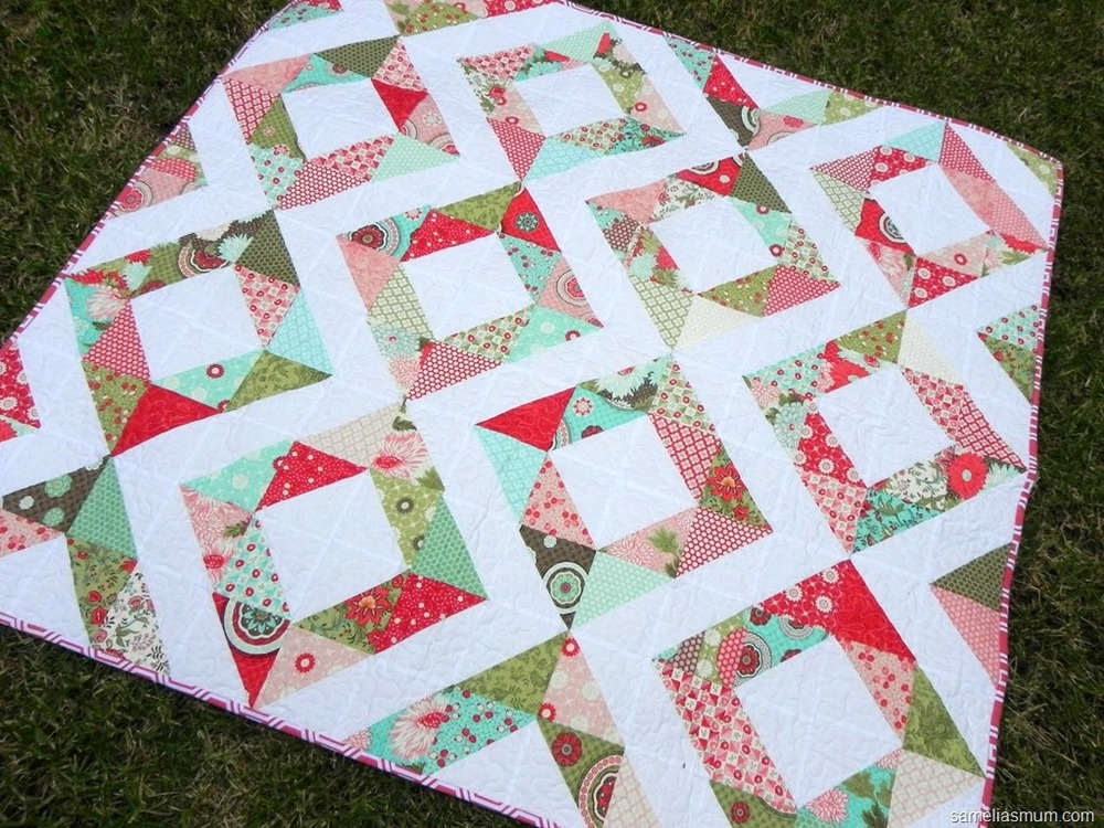 Marking Quilting Designs On Your Top : 100+ Free Quilt Patterns: How to Quilt the Most Popular Projects FaveQuilts.com