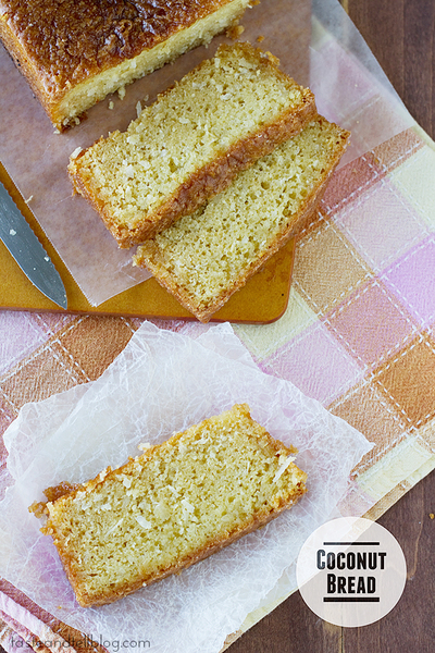 Golden Coconut Bread