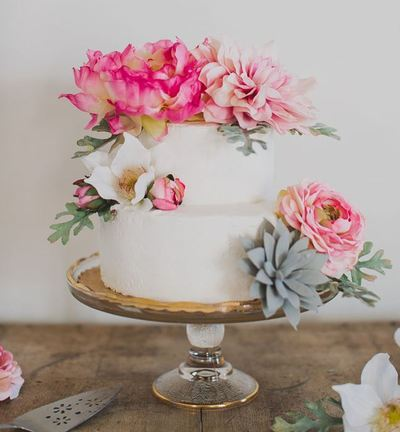 artificial wedding cake flowers silk flower diy wedding cake 10846