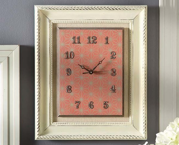 Retro Framed Clock